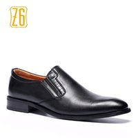 Wholesale Dresses Daily - 2017 new men's dress shoes W6262-1 waterproof leather business men office daily business casual shoes Z6 brand Handmade