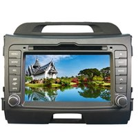 "Wholesale Car Dvd Sportage - 7"" KIA sportage R 2010 2011 2012 in-dash Car DVD player with GPS navi(optional),audio Radio stereo,USB SD,AUX,BT TV,car multimedia headunit"