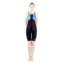 Wholesale Girls Swimwear Long - HXBY Women Girls fastskin Full Waterproof Body Suit Swimwear Long Sleeve Arena Competitive Swimming Swimsuit-987