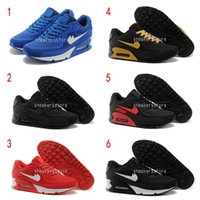 [Com caixa] 2016 Hot Sale Air 90 Men Running Shoes de alta qualidade New Classical Cheap Sneakers Sneakers 90 Sports Shoes US7-12