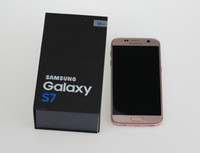 Wholesale Mobile Mp - Pink Samsung Galaxy S7 s7 edge Octa Core Mobile phone 16 MP Camera android 6.0 4GB 32GB original refurbished phone