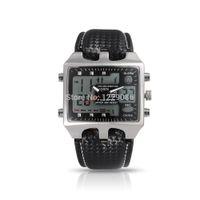 Wholesale Ohsen Luxury Watch - Wholesale- OHSEN Brand Men Sports Watches Men's Luxury Date Digital Led Watch Black Wristwatches Gift for Men