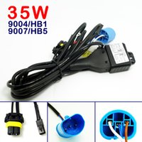LEEWA Car 12V 35W 9004 / HB1 / 9007 / HB5 Hi / Lo Beam Bi-xenon Relay Harness для комплекта конверсии HID Артикул №: 4195