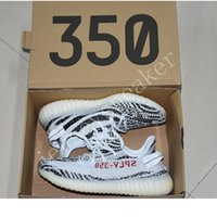 Barato Botas Zebra Baratos-Com Box 2017 Cheap Wholesale Mens e Womens Running Shoes Zebra Boost 350 V2 SPLY-350 STEGRY BELUGA SOLRED Primenkit Sneakers Boosts Bootsts