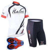 Wholesale Nalini Jersey Set - Man NALINI team cycling jersey (bib)shorts sets Ropa Ciclismo Summer Cycling clothing Quick-Dry Sportwear 9D GEL Pad Bicycle clothing A135