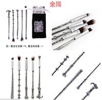 Wholesale Harry Potter Magic Stick Wand Hand Makeup Brush Set Makeup Brush