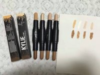 Wholesale Pro Charms - Newest KYLIE Women 4 color Pro Liquid Concealer Cream High-definition Concealer Face Makeup Long-listing Keep Your Charming