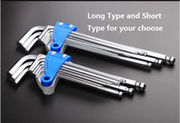 Wholesale Allen Key Set Ball - Facom TOOLS 9 Piece Extra Long Reach Ball Ended Hex Allen Key Set Wrench 1.5-10mm