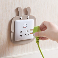 Wholesale Wholesale Wall Switch Cover - Cartoon luminous switch stickers Bedroom switch decorative stickers Wall stickers protective cover free shipping