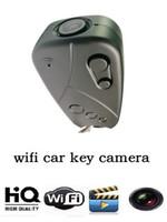 cctv cars wholesale NZ - wireless Wifi car key camera HD car keys Mini DV portable Car Keychain DVR digital Video Recorder home Security CCTV Camera