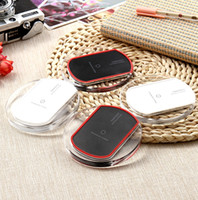 Wholesale Iphone For Sale Uk - 2017 Hot Sale Luxury Qi Wireless Charger Charging Pad Mini for Samsung S6 S7 Edge Plus S8 HTC Nokia etc US02 dhl free shipping
