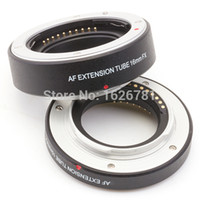Wholesale Fuji X Pro1 - Wholesale- Autofocus Macro extension tube work for Fuji FX camera X-T1 X-A1 X-E2 X-M1 X-E1 X-Pro1