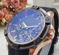 Wholesale Silicon Brand Wrist Watches - 2017 Luxury Brand Silicon Strap Analog Men's Quartz Date Clock Fashion Casual Sports Watches Men Military Wrist Watch