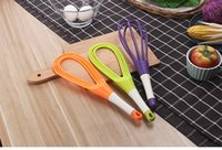 Wholesale blender whisk for sale - Group buy New Rotatable in1 Rotatable Egg Beaters Food Grade PP Handle Whisk Cook Tools Kitchen Egg Blender