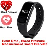 Wholesale NEW blood pressure smart wristband M8 better than mi band Passomete Sync smartband for fitbit Bracelet WristBand