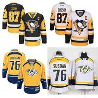 Wholesale Cheap Crosby Jerseys - 2017 Stanley Cup Champions Pittsburgh Penguins Hockey Jerseys Jake Guentzel Sidney Crosby Evgeni Malkin Mario Lemieux PK Subban jersey Cheap