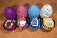 Wholesale electronic game player resale online - Tamagotchi Toy Tumbler Cracked Dinosaur Egg Electronic Pets Toys S Nostalgic Pets in Virtual Cyber Pet Game Player Multi colors