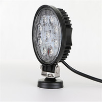 Wholesale Led Offroad Spot 27w - 27W cree LED Work Lamp Bar Waterproof Flood Spot Combo Beam Offroad Boat Car Motorcycle and car headlight Night Driving Lighting