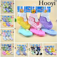 Wholesale Pantyhose Pcs - Hooyi 3 Pairs Baby Socks Anti-Slip Newborn Sock Baby Girl Stockings 3 Pcs Pack 0-12Months Boys Non-Slip Slipper Cotton Pantyhose
