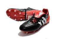 Men original messi - Black Red Predator Mania ACE Purecontrol Champagne FG Soccer Shoes Many Colors Football Boots Original Messi Soccer Cleats