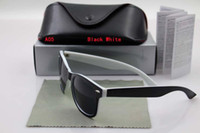 Wholesale Womens Polarized Sunglasses Designer - NEW 54MM Excellent Quality Fashion Designer Sunglasses Semi Rimless Sun Glasses For Mens Womens Eyewear sunglasses come with box M6254