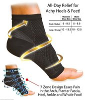 Wholesale Support Relief - Wholesale- Men Women FOOT ANGEL Sleeve Arch Heel Pain Relief Support Ankle Compression