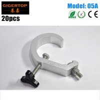 Wholesale Machine Load - TIPTOP 05A 20PCS Standard C Clamp DJ Light Mounting Aluminum Allay Load 80kg Freeshipping for Stage Effect Machine Cheap Price