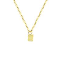 Wholesale 3d Slides - Wholesale 10Pcs lot 2017 New Arrival Bridesmaid Gifts Stainless Steel Jewelry Pendant Gold Colour 3D Cube Choker Necklaces For Women Men
