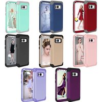 Wholesale Silicone Covers For Smart Phones - case 3 in 1 full body coverage silicone pc three layers cover For Smart Phone,Mobile phone,Android phone