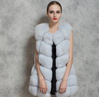 Wholesale Water Mink Fur - Europe and the United States autumn and winter new fur coat imitation fur fox fur vest water mink coats