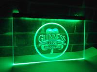 Wholesale Lighted Guinness Beer Sign - LE111g- Guinness Beer Dublin Ireland Bar LED Neon Light Sign
