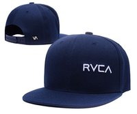 Wholesale brand snapback hats RVCA Snapback Caps gorra plana hip hop hat Skateboard Sport Baseball Cap For Men women fashion bone pop