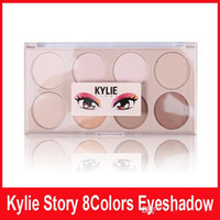 Wholesale Natural Story - Kylie Cosmetic Makeup Kyshadow for Eye Kylie Story Eyeshadow Palette 8 Colors Makeup Eye Shadow VS Kylie Kyshadow