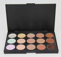 camouflage make-up-marken groihandel-Heißer Verkauf 15 Farbe Concealer Camouflage Make-up Palette Set ohne Logo Wahl Top-Marke ausgezeichnete Qualität
