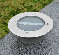 Wholesale Floor Spot Lighting - 2017 led Outdoor Lighting Solar lamp Powered Panel LED Floor Lamps Deck Light 3 LED Underground Light Garden park Pathway Spot Lights