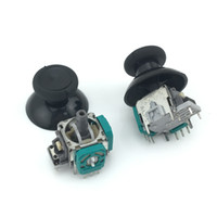 Wholesale Free Xbox Covers - 3D Analog Joystick Stick Sensor Module Potentiometers + Black thumbsticks Cap Cover For Microsoft xbox one wireless controller FREE SHIPPING