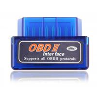 nissan obdii adaptör toptan satış-Süper Mini Elm327 Bluetooth OBD2 V1.5 Elm 327 V 1.5 OBD 2 Araç Teşhis Aracı Tarayıcı Elm-327 OBDII Adaptörü Otomatik Teşhis Aracı