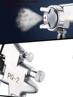 Wholesale paint gun price resale online - Low price PQ pneumatic mm puzzle size spray gun under the pot of pneumatic tools household spray paint spray gun