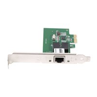 Wholesale Gigabit Ethernet Pci Adapter - 10 100 1000 Mbps PCI Express PCI-E Network Card RJ-45 Ethernet Port Adapter Converter Network Controller