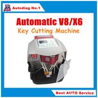 ingrosso tasto automatico x6-MIGLIOR MACCHINA AUTOMATICA V8 / X6 per taglio di chiavi con database gratuito V2015