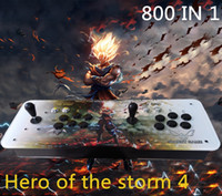 Wholesale Connect Computers - Hero of the Strom 4,American joystick,The new Storm Heroes 4 ,arcade GAME ,800 IN 1,HDMI VGA out, connected to computer,Add pause and exit.