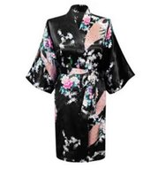 Neue Silk Kimono Robes für Frauen Satin Bademantel Lange Seide Robes Für Brautjungfern Longue Femme Frauen Dressing Gown Brautjungfer Robe