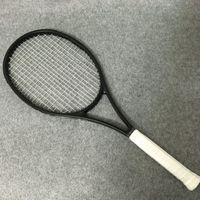 kohlefaser zoll großhandel-NEUE Zoll 100% Kohlefaser Tennisschläger Taiwan OEM Qualität Tennisschläger 315g Federer schwarz Schläger