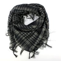 Wholesale wholesale arab shemagh - Wholesale- 2017 Hot Sale 1PC Unisex Fashion Women Men Arab Shemagh Keffiyeh Palestine Scarf Shawl Wrap Very popular Extra Soft extra warm
