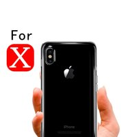 Wholesale Thin Shell - Shockproof Transparent Ultra Slim Phone Case For iphone X 8 plus Soft TPU Clear Phone Thin Case For iphone 8 Shell