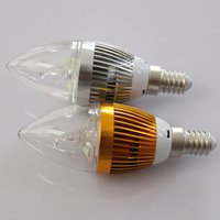 100pcs / Lot Dimmable led E27 E12 2 * 3w 6w High Power Led Candle bulb led light lamp lighting chandelier bulbs light CE UL