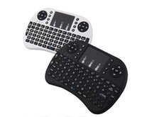 Wholesale Remote Control Pc Media - 2017 Wireless Keyboard Rii i8 Keyboards Fly Air Mouse Multi-Media Remote Control Touchpad Handheld for Smart TV BOX S905X Android Mini PC
