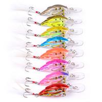 Wholesale Lure Group - Original PROBEROS Plastic Fishing Lures Bait Minnow Crankbaits Group Fish 3D Eye Artificial Lure Bait Bionic Hard Bait 2530006
