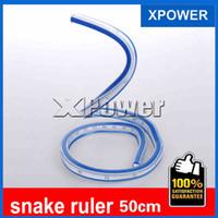 Wholesale Flexible Curve - Wholesale- Free shipping DIY model 50cm flexible curve ruler snake tape measure chiban serpiform chiban curve