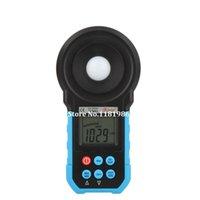 Wholesale Digital Lux Light Meter - Wholesale-Bside ELM02 Digital Light Meter Luxmeter Illuminometer Auto and Manual Range 0~200000 Lux
